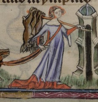 British library, Yates - Thompson 13, fol. 72
