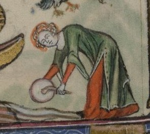 British library, Yates - Thompson 13, fol. 72v
